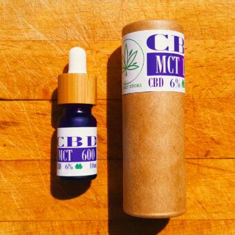 6% CBD MCT õlis, vaba THC